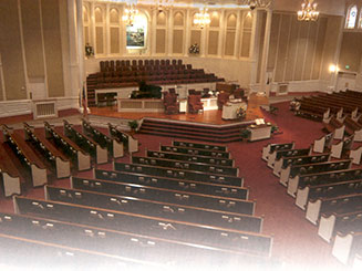 Virginia Church Furniture - Custom Church Pews, Steeples, Pulpits, Stained Glass & Other Furniture